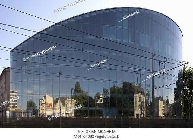 Duisburg, Haus der Wirtschaftsförderung im Mikroelektronik-Park