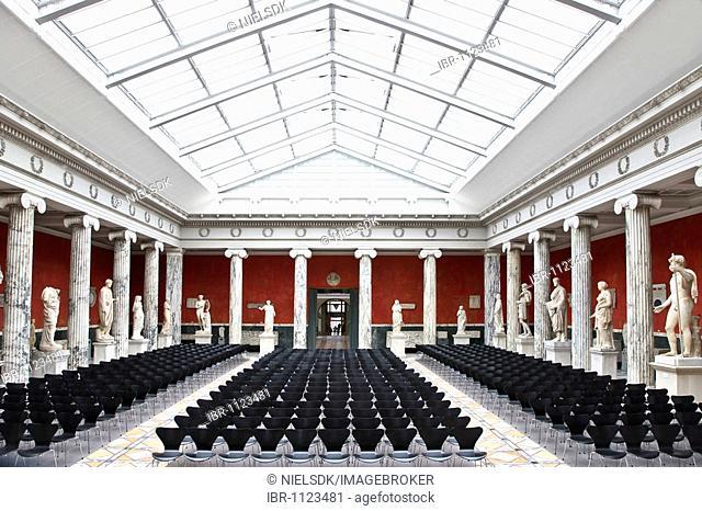 The Central Hall at Ny Carlsberg Glyptotek, Copenhagen, Denmark