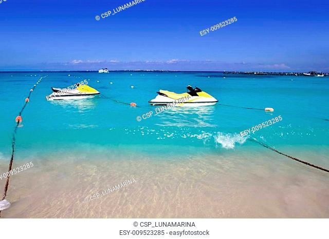 PWC Personal watercraft caribbean beach