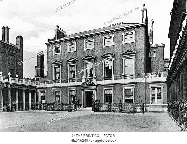 Chesterfield House, Mayfair, London, 1908. A photograph from The Private Palaces of London by E Beresford Chancellor, (Kegan Paul, Trench, Trubner and Co