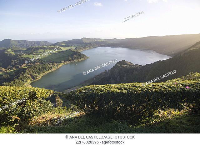 Lagoa das Furnas, Furnas Valley - Sao Miguel island. Azores, Portugal