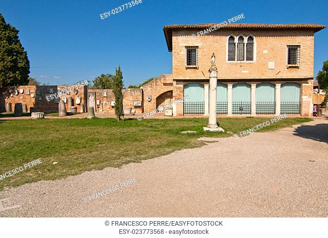 Venice Italy Torcello ancien island of venetian lagune
