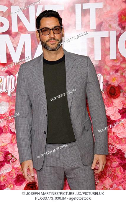 """Tom Ellis at Warner Bros. Pictures' """"""""Isn't It Romantic"""""""" Premiere held at The Ace Hotel in Los Angeles, CA, February 11, 2019"""