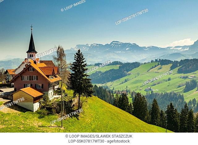 The small village of Bramboden in the canton of Lucerne