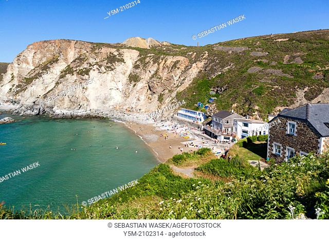 Trevaunance Cove, St. Agnes, North Cornwall, England, United Kingdom, Europe