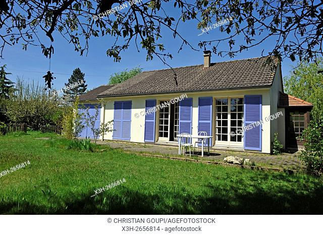 country house, Eure-et-Loir department, Region Centre-Val de Loire, France, Europe