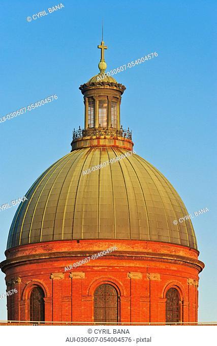 France, Toulouse, [religious dome], [glass cupola], Dome of Saint-Joseph de la Grave