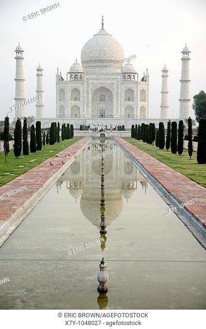 The Taj Majal at dawn