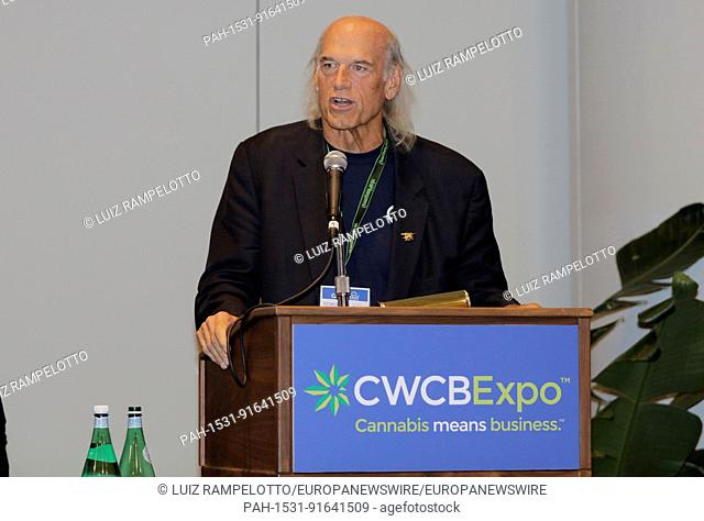 Javits Center, New York, USA, June 15 2017 - Jesse Ventura and Representatives of the Cannabis Industry during the 4TH Cannabis World Congress & Business Expo...