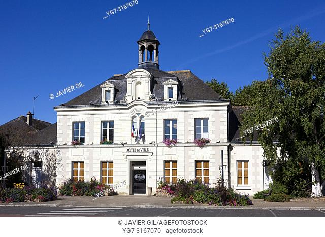 City council of L'Ile-Bouchard, Indre-et-Loire, Centre-Val de Loire, France