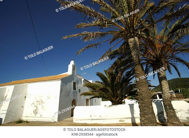 Sant Francesc de s'Estany, Church (18th Century). Ibiza. Balearic Islands, Spain