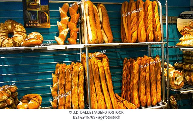 France, Food, breads...