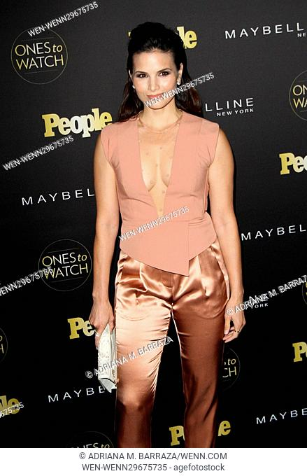 People's One's To Watch Event Celebrating Hollywood's Rising & Brightest Starts held at E.P. & L.P. in Los Angeles Featuring: Katrina Law Where: Los Angeles