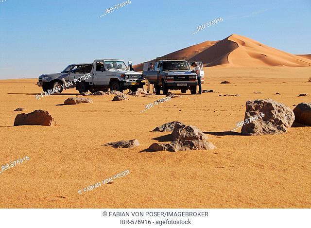 Jeep safari, Murzuq desert, Libya