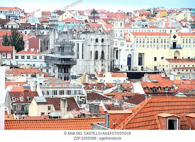 Lisbon panorama Portugal