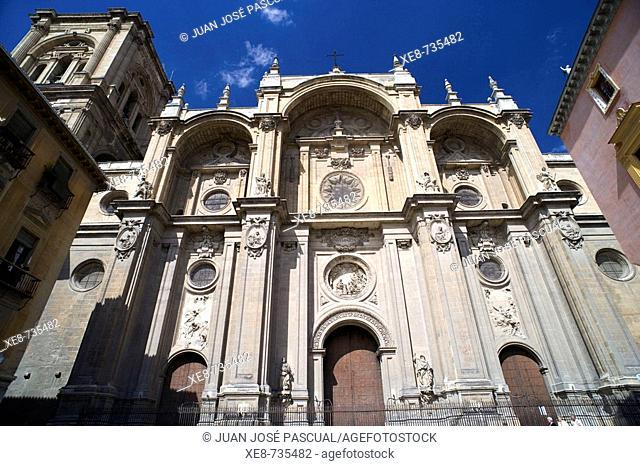 Cathedral, Granada. Andalucia, Spain