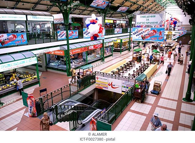 Bulgaria, Sofia, Halite Market Hall