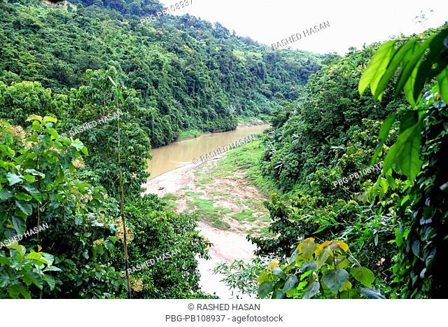 The Sangu River at Ruma Bandarban, Bangladesh September 2010