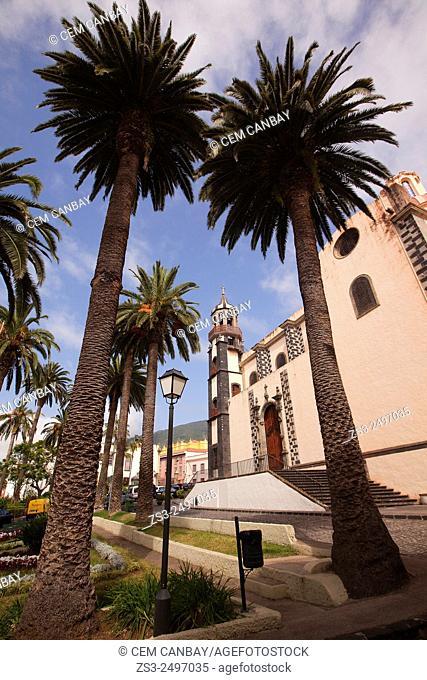 La Concepcion Cathedral in La Orotava, Tenerife Island, Canary Islands, Spain, Europe