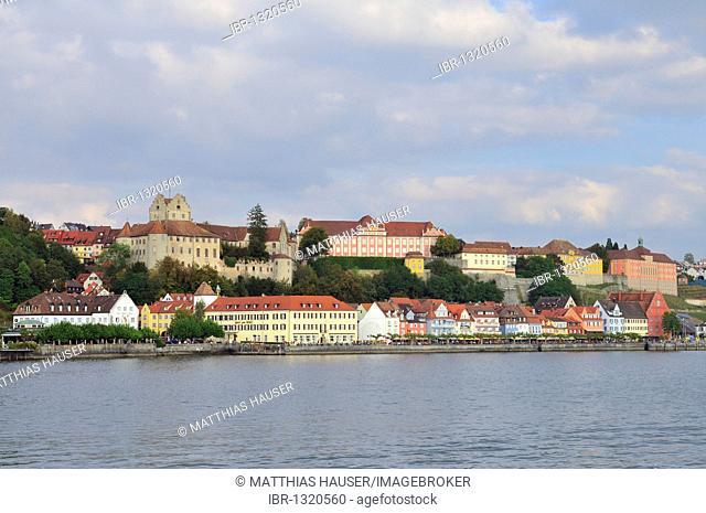 Meersburg on Lake Constance, Baden-Wuerttemberg, Germany, Europe
