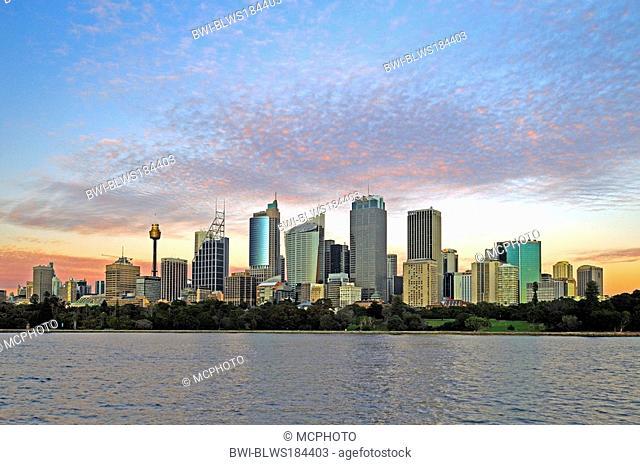 skyline of Sydney, Australia, Sydney