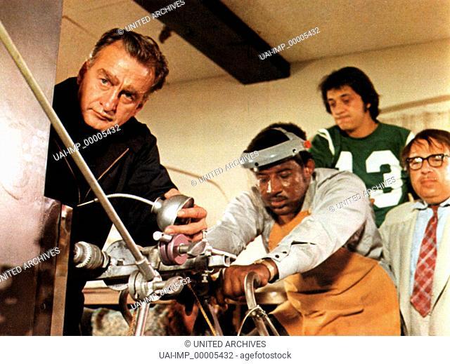 Klauen wir gleich die ganze Bank, (BANK SHOT) USA 1973, Regie: Gower Champion, GEORGE C. SCOTT, FRANK McRAE, G.WOOD, SORRELL BROOKE