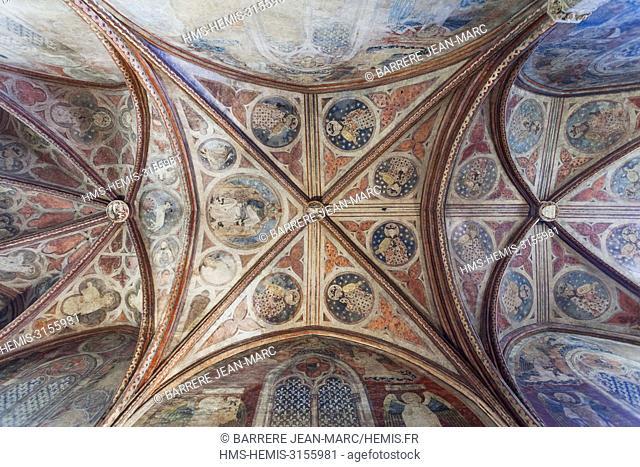 France, Haute Garonne, Toulouse, Saint Antonin chapel of the Couvent des Jacobins