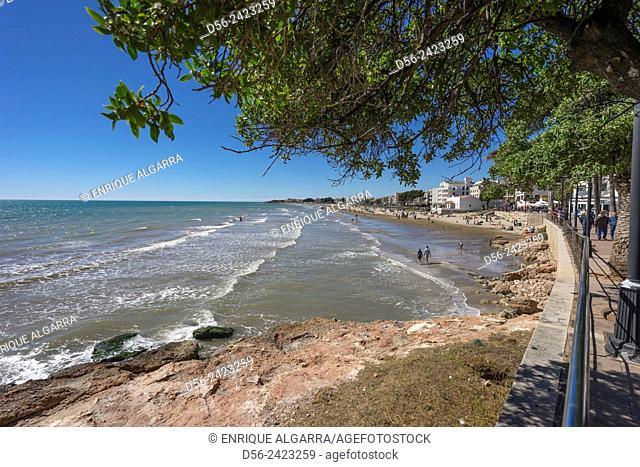 Carregador beach, Alcocebre, Castellon province, Spain