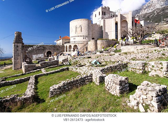 National Museum at the citadel of Kruja, Albania
