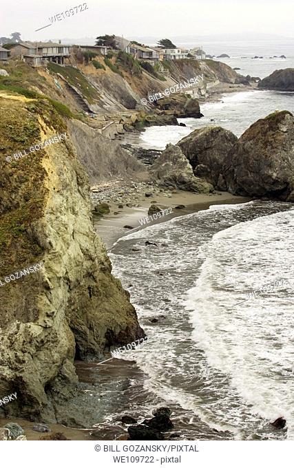California Coastline north of San Francisco, California USA