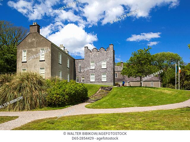 Ireland, County Kerry, Ring of Kerry, Catherdaniel, Derrynane National Historic Park, Derrynane House, former home of Maurice O'Connel, smuggler