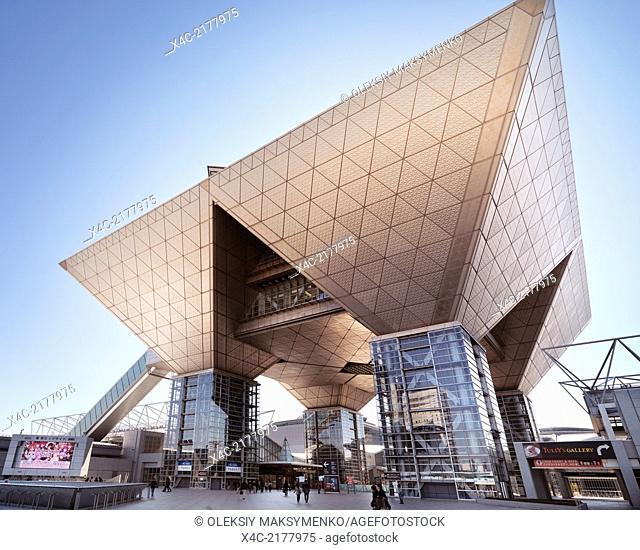Tokyo Big Sight - Tokyo International Exhibition Center - The Conference Tower. Ariake, Tokyo, Japan