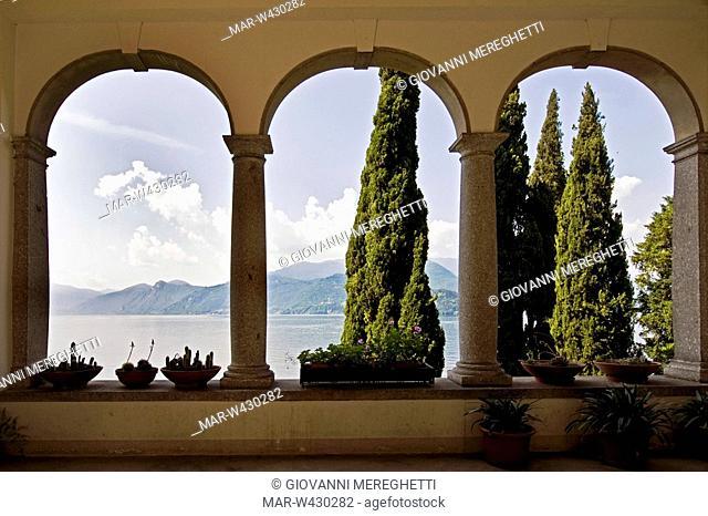 villa monastero, varenna, lombardia, italia