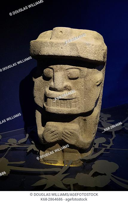San Agustin Archeological Park in San Agustin, Colombia, South America