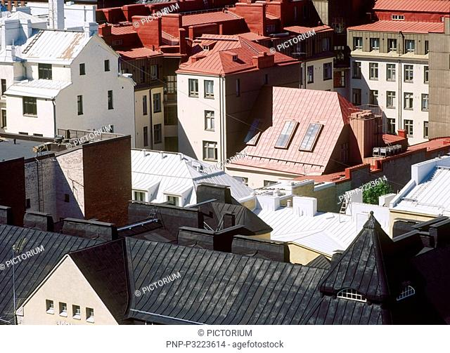 The roofs of Helsinki