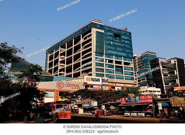 big bazaar mall opposite vashi railway station, Navi Mumbai, maharashtra, India, Asia