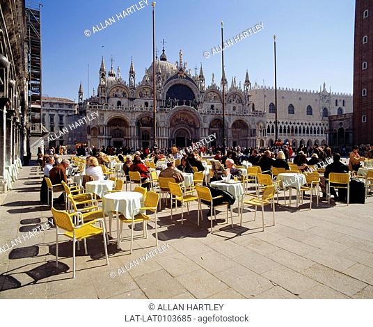 Piazza San Marco,often known in English as St Mark's Square,is the principal square of Venice,Italy. The Piazza originated in the 9th century as a small area in...