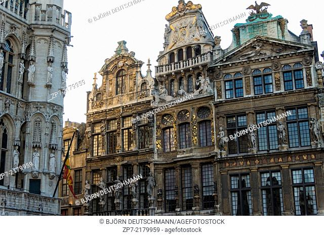 The City of Brussels, Belgium
