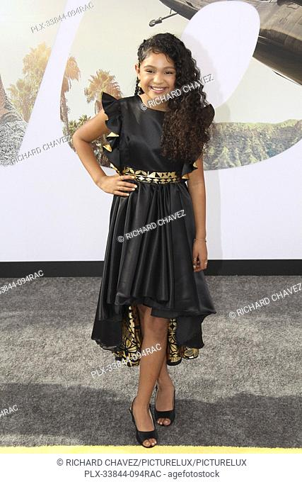 "Eliana Su'a at the Universal Pictures World Premiere of """"Fast & Furious Presents: Hobbs & Shaw"""". Held at the Dolby Theater in Hollywood, CA, July 13, 2019"