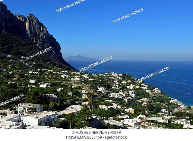 Italy, Campania, Gulf of Naples, Capri island, Marina Grande