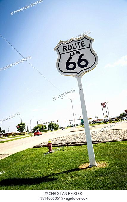 Route 66 Museum, Historic Route 66, Clinton, Oklahoma, USA