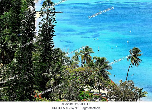 France, New Caledonia, Grande-Terre, Southern Province, Noumea, Anse Vata