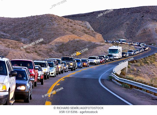 traffic jam, Arizona, USA