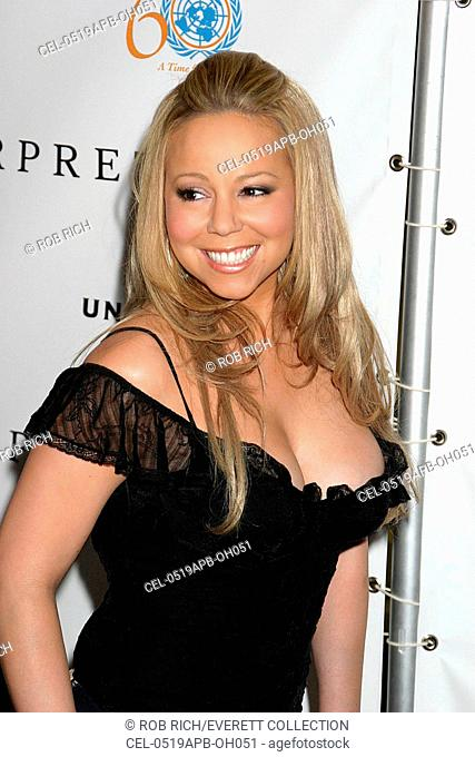 Mariah Carey at arrivals for The Interpreter Premiere Tribeca Film Festival Opening Night, The Ziegfeld Theatre, New York, NY, April 19, 2005
