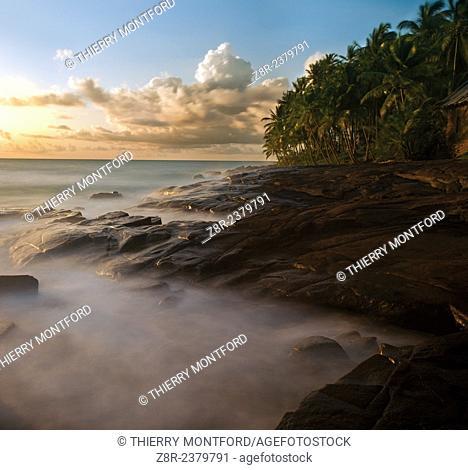 The devil islands, in the atlantic ocean. Kourou. French Guiana