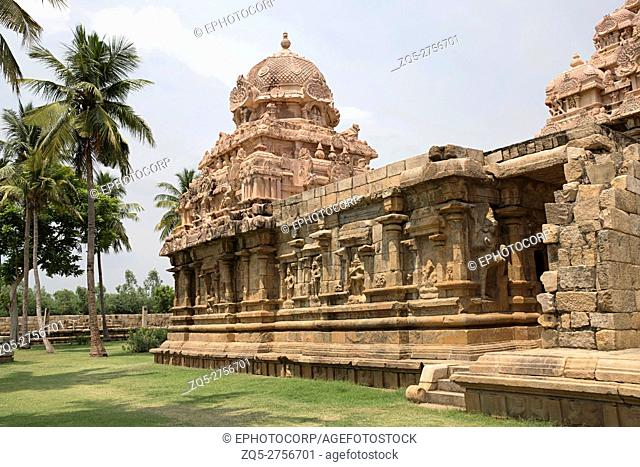 Tenkailasa shrine, Gangaikondacholapuram, Tamil Nadu, India