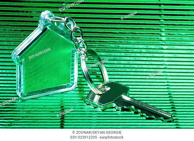 Keychain and key