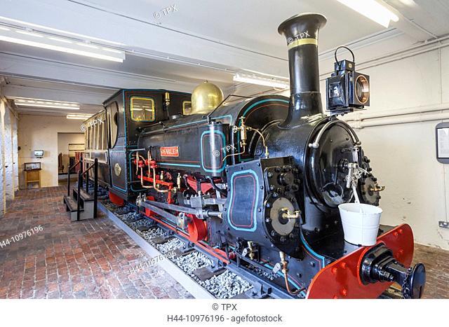 Wales, Bangor, Penrhyn Castle, The Railway Museum
