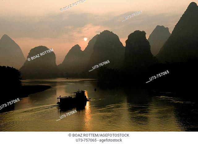 China, Guilin, Li river