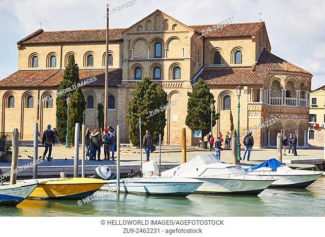 Byzantine church of Santa Maria and San Donato, Murano, Venetian Lagoon, Veneto, Italy, Europe
